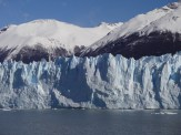 """One of the most magnificent experiences this trip has to offer is seeing huge chunks of ice suddenly """"calve"""" off and slide into the water. The sound is thunderous. Our boat rocked with the waves."""