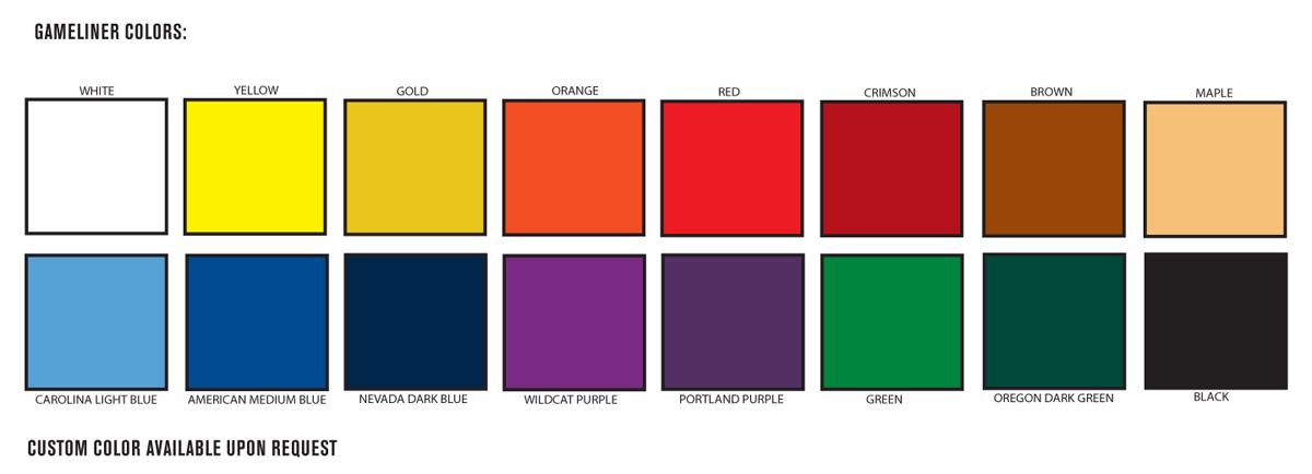 Floor Color Pad Buffing Chart
