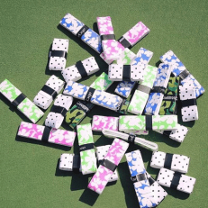 Chameleon Racquet Grips: Fun colors and patterns to express Mom's individual style