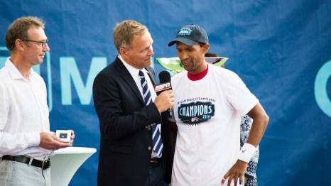 Raven Klaasen post match interview with ESPN