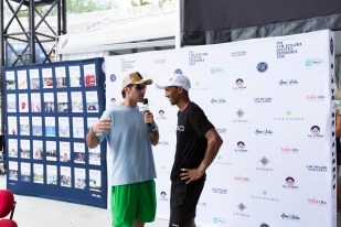 Interview with Raven Klaasen playing for the Aviators, winning team of the Mylan World TeamTennis Finals 2016