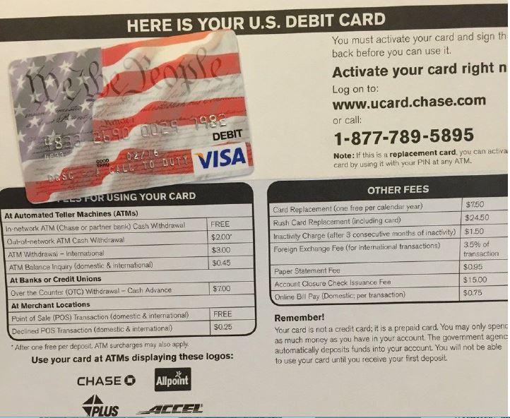 Chase Draws Fire for Jury Debit Card Scheme