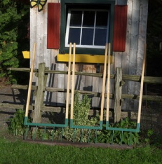 outils jardins