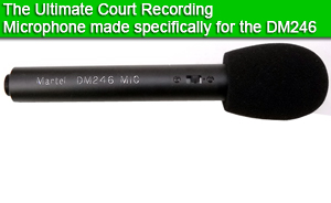 Courtroom Recording Microphone