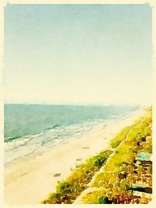 Same photo, just processed differently in app. Myrtle Beach (original photo credit to Meredith Runion)