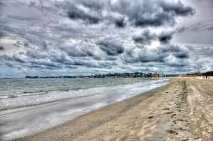 Revere Beach as it appeared today.