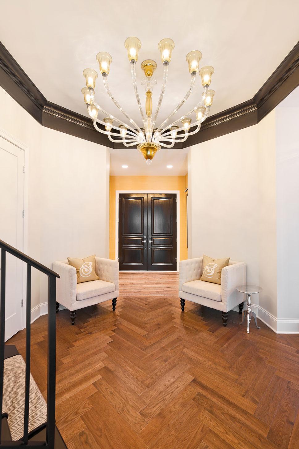 Courtney Casteel, Interior Design Foyer design