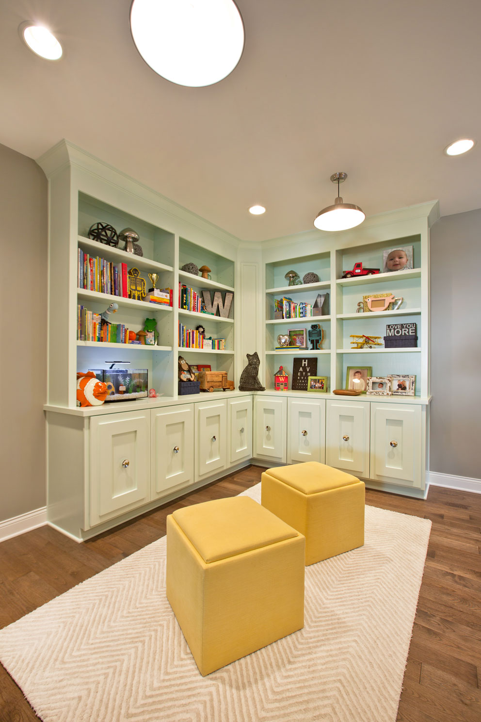 Courtney Casteel, Interior Design Playroom design