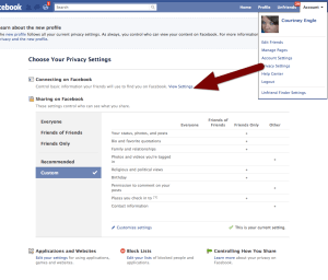 friends list privacy