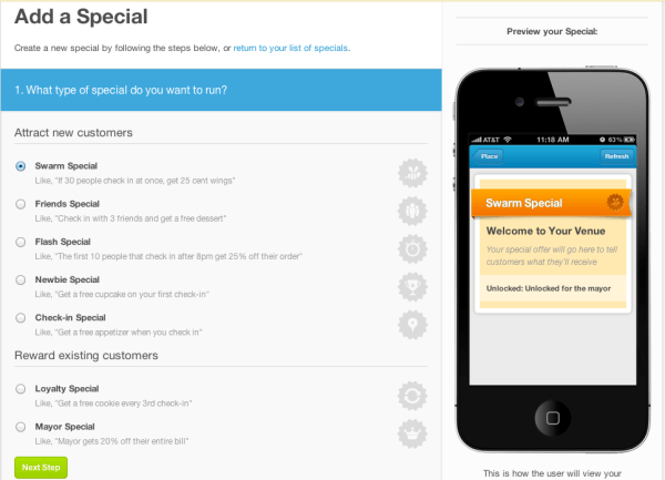 Foursquare Select Special