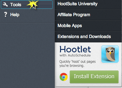 hootsuite tools