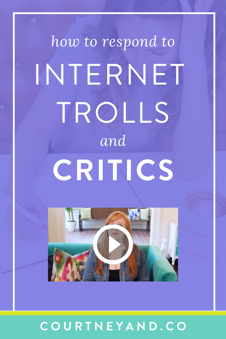 negative feedback - how to respond to online trolls and critics