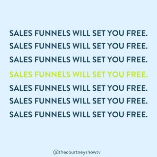 """Poor, sweet sales funnels. 😂 They get such a bad rap, primarily because of how they're used (more like, *abused*), when they're actually FAR simpler (and more delightful) than often presented. And that's both for the business owner AND consumer.  In case you're thinking...  """"Sales funnels are icky."""" """"Sales funnels are too techie for me."""" """"Sales funnels are too 'bro-preneur' for me."""" """"Sales funnels don't work on me so I don't want to use one to sell my course.""""  Let me throw some fast facts at you, all in the name of repairing sales funnels' good name:  Sales funnels aren't new.  Russell Brunson didn't invent them.  They've been around for over 100 years.  In 1898, E. St. Elmo Lewis introduced the AIDA Model (Awareness, Interest, Desire, Awareness) which is like a sales funnel with training wheels. Basically.  In 1924, William W. Townsend married the AIDA model to the image of sales *funnel* and popularized it.  In 2015, I declared """"Shouldn't it really be sales *sieve*? A 'funnel' feels overly optimistic.""""  It didn't stick. 😂 No one listened to me. Anyways...  Nowadays, there are sales funnels of all kinds everywhere.  As a 21st century consumer, you're pretty much always in a sales funnel — whether you realize it or not.  (You're in a sales funnel right now. 😉#MetaMoment)  A sales funnel is simply a specific, defined customer journey that moves a lead from cold to sold in a strategic way.  If you've ever done a free or low-priced trial, given your email address for a promo code or free ebook, or even signed up for a free class (😉), you've been in a sales funnel.  They empower consumers, they empower business owners, and they build trust.  I talk here a lot about how sales is an act of service. I believe that.  AND I'll add that a sales funnel makes that service-through-sales thing actually come to life. *chef's kiss*  Want to see a sales funnel in action? 😉 (And attend a great, free class?) Go here: freecourseclass.com"""