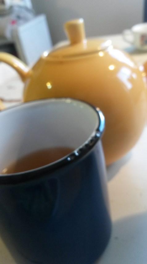 Peppy green tea