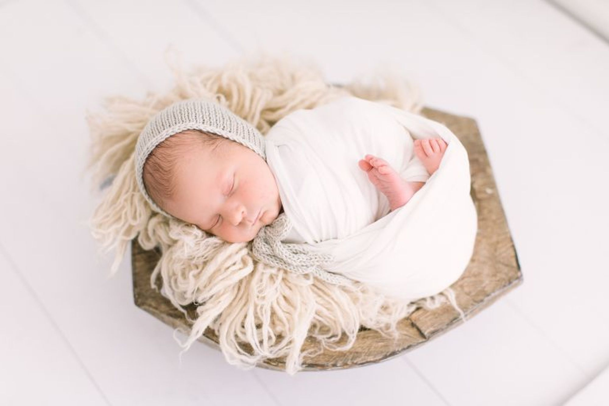 Posed newborn photos with twins by Houston Newborn Photographer, Courtney Griffin Photography.