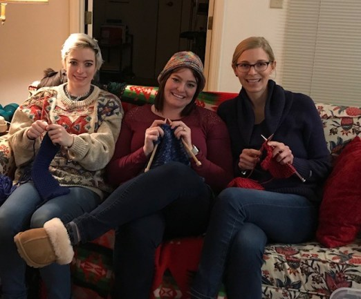 knitting for self-care