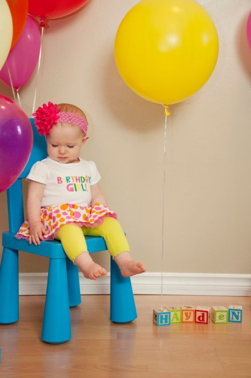 Regina Family Photographer - 1 Year Old Party
