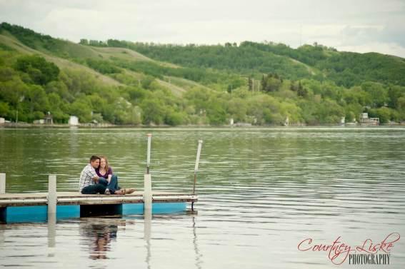 Regina Engagement Photography - Pam & Grant - Dock 2