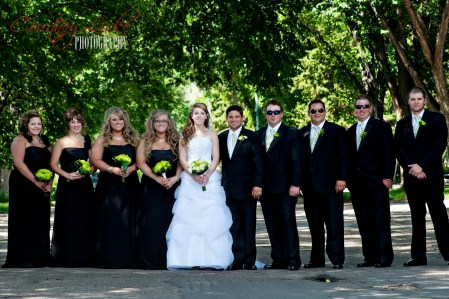 Regina Wedding Photographer - Pam & Grant - Wedding Party