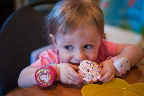 Regina Family Photographer - Hayden is 2 - Cupcake Time