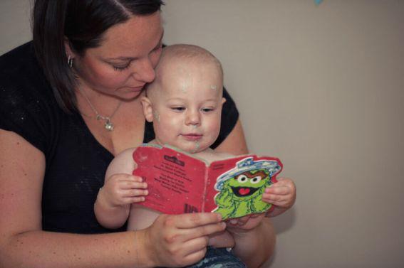 Regina Family Photographer - Astrope Family - 1 Year Birthday - Reading Oscar