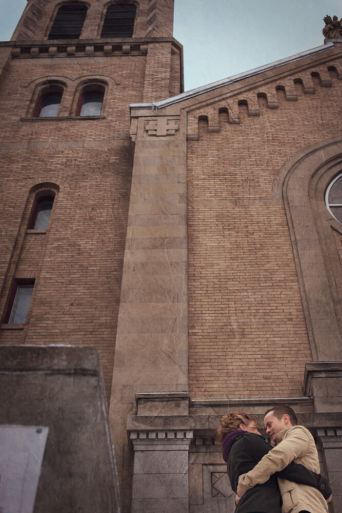 Regina Engagement Photographer - Brian & Jacey - Cathedral