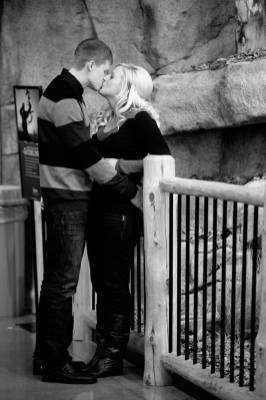 Regina Engagement Photographer - Quentin & Brittni - Cabelas Upstairs