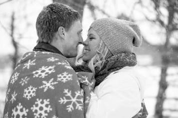 Regina Engagement Photographer - Stephen & Sara - Winter Love