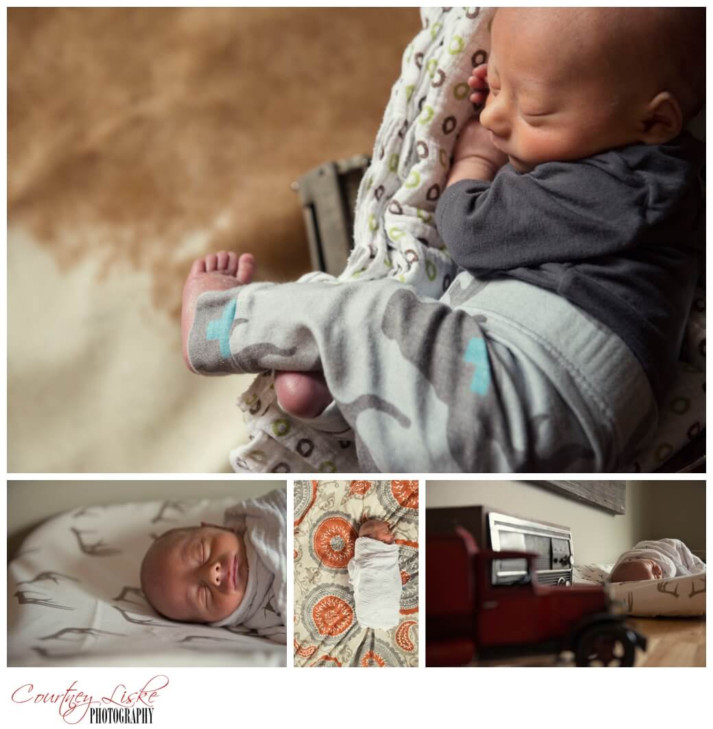 Cohen Newborn - Regina Family Photographer - Courtney Liske Photography