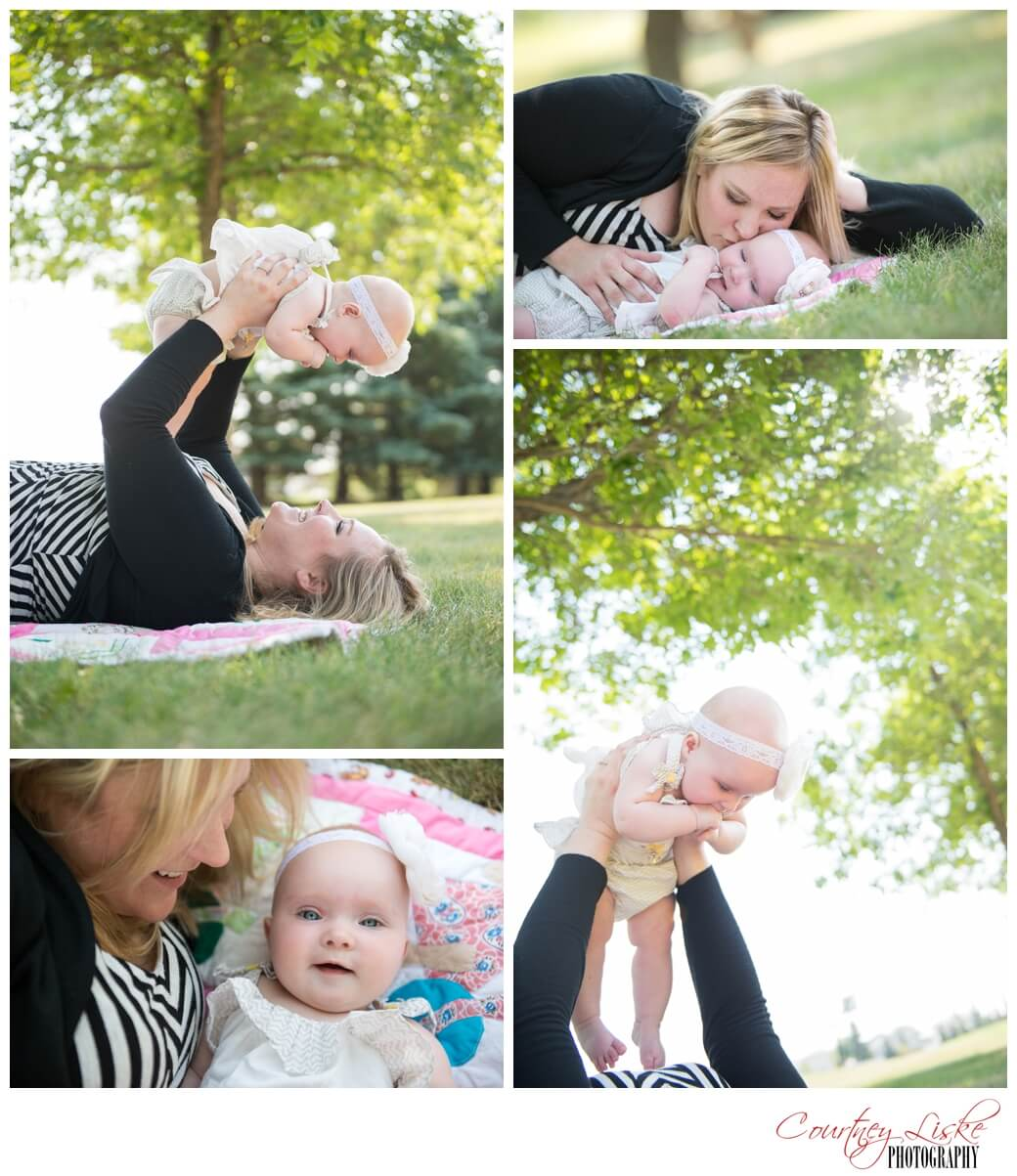 Isla & Mommy - Regina Family Photographer - Courtney Liske Photography