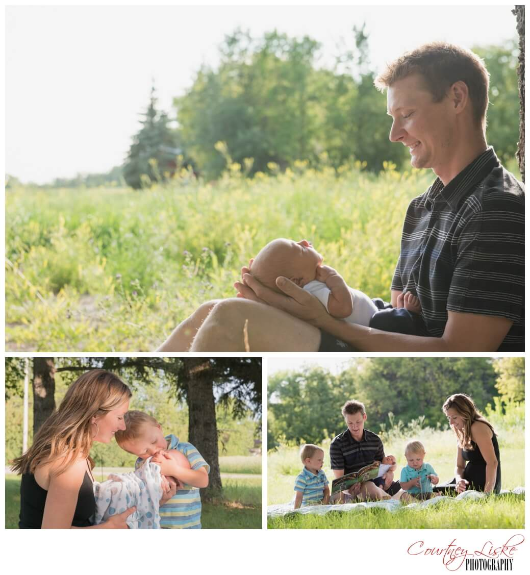 Jarren Newborn - Regina Family Photographer - Courtney Liske Photography