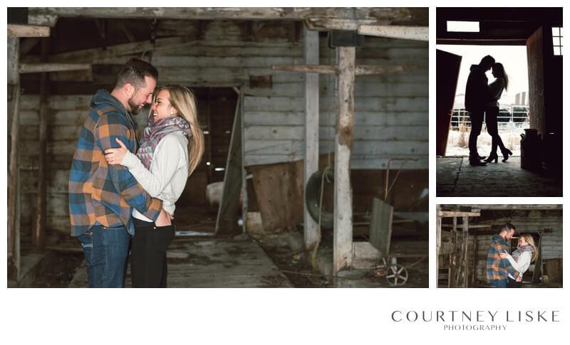 Trevor & Nicole Engagement - Courtney Liske Photography - Regina Wedding Photographer - Barn Engagement