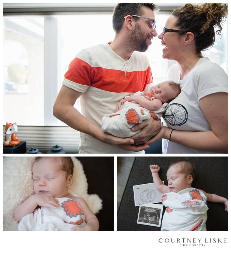 Cooper Newborn - Courtney Liske Photography - Regina Family Photographer - In home Newborn Photography