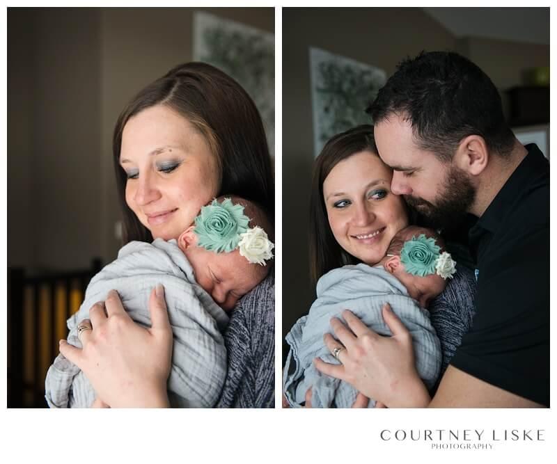 White City Newborn - Valley Newborn Photos