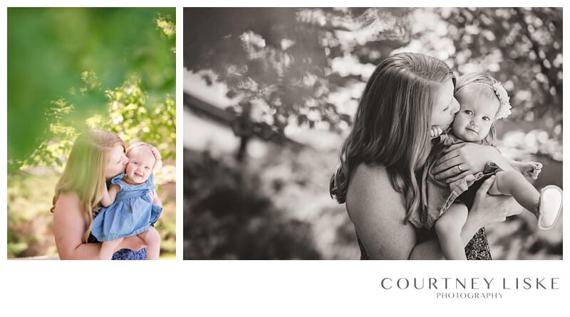 Avonlea is One - Courtney Liske Photography - Regina Family Photographer - Mommy & Me