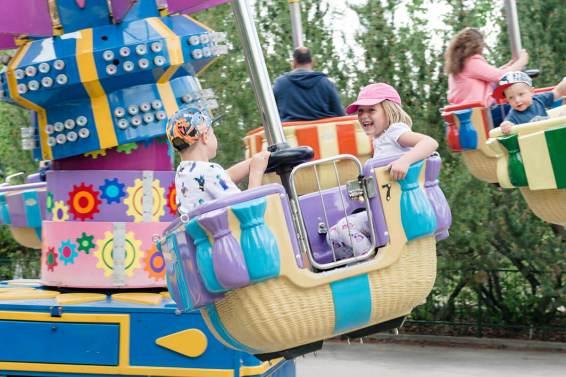 Balloon ride at Calaway Park
