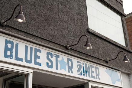 Blue Star Diner in Calgary Alberta