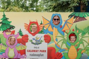 Dragon fun at Calaway Park