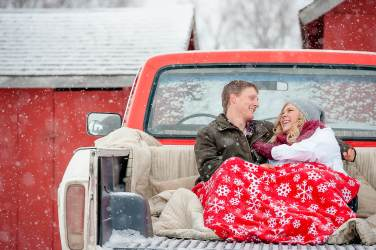 Regina Engagement Portfolio - Stephen-Sara - Truck Bed