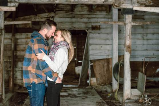 Regina Engagement Portfolio - Trevor-Nicole - Barn