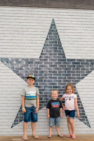 The Liske family loves the Blue Star Diner