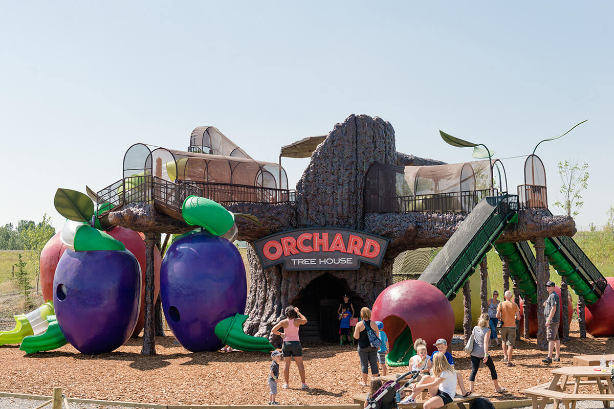 The Orchard Treehouse play area at Granary Road