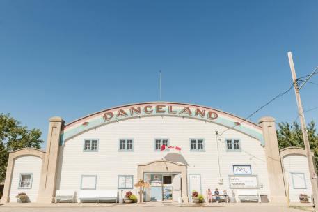 Danceland dance hall in Manitou Beach Saskatchewan