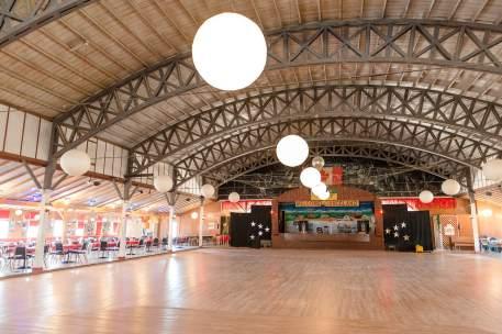 Interior Danceland dance hall