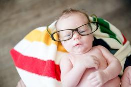 Regina Newborn Photographer - Cooper Glasses