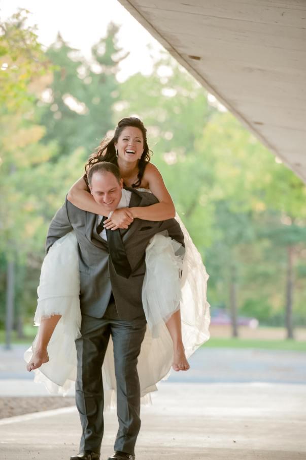 Regina Wedding Photographer - Adam & Vicki - Piggyback