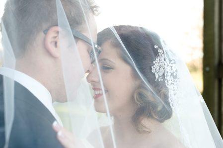 Regina Wedding Photographer - Carlen & Amy - Under Veil