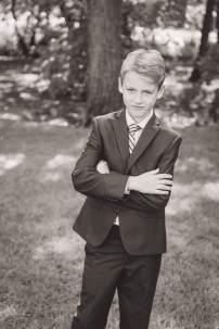 Tween poses for photo in his suit in Regina