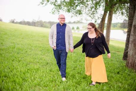 Couple walking hand in hand at Connect Retreat 2017