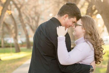 Regina Engagement Photography - Luke-Tori - In the park